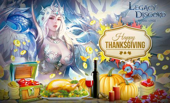 Thanksgiving Feast and Black Friday Blowout for Legacy of Discord - Furious Wings