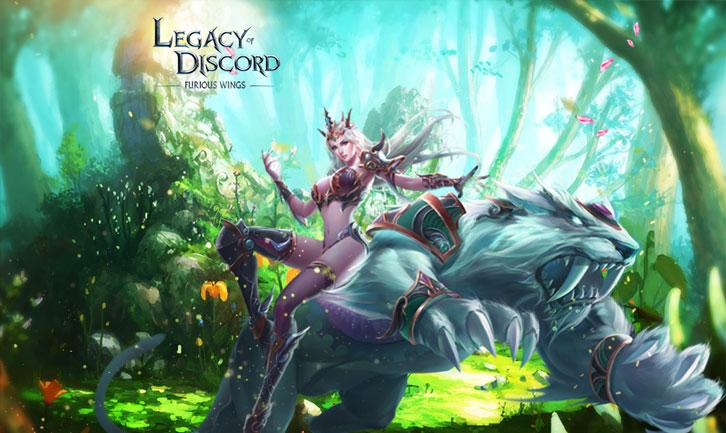 Legacy of Discord: Power Up With the Force of Aurora