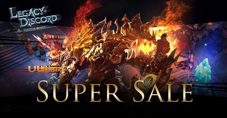 Legacy of Discord's Super Sale