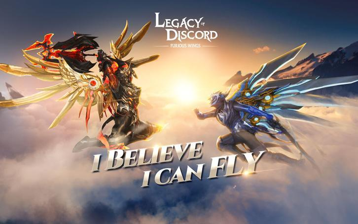 Legacy of Discord Releases a New Trailer for its Flying System