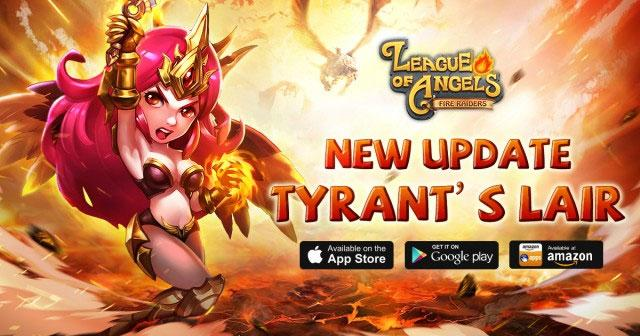 League of Angels - Fire Raiders Update 3.4 - Tyrant's Lair