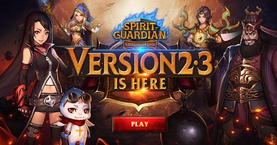 Version 2.3 Arrives to Spirit Guardian: Vanguard Rush