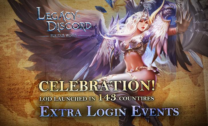 Legacy of Discord Celebrates Its Launch in 143 Countries