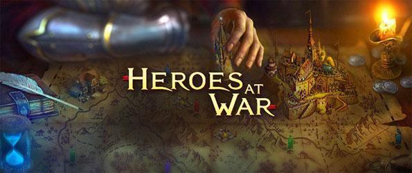 Heroes at War - Develop your kingdom into a mighty empire and wage wars against other players in this brand new MMORTS game, Heroes at War!