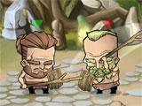 Fighting in Tiny Gladiators
