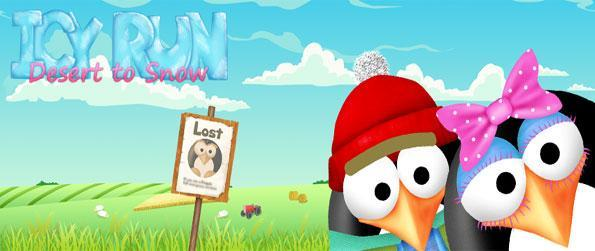 Icy Run - Help Icy Get Home in a Brilliant New Casual Game where You Create your Own Path