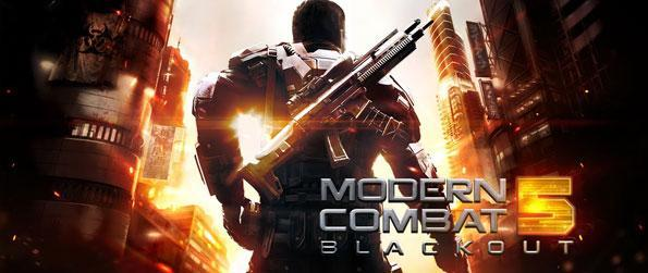 Modern Combat 5: Blackout - Modern Combat 5 sure is a great game to be had in your mobile device to get you scrambling for frantic FPS missions and team matches anytime, anywhere.