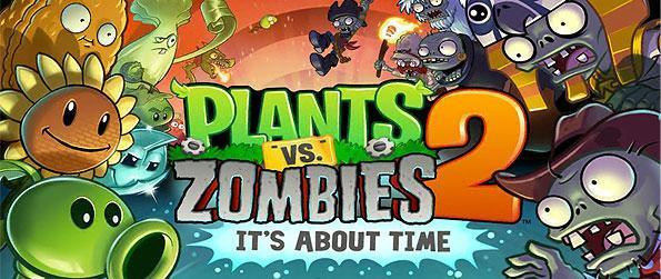 Plants Vs. Zombies 2 - Get another shot over the garden battlefield in this brimming sequel to the strategy game that we all love - Plants vs. Zombies!