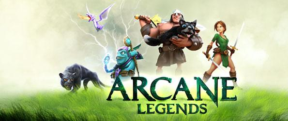 Arcane Legends - Choose between a warrior, rogue or a sorcerer and embark on an epic adventure in Arcane Legends.