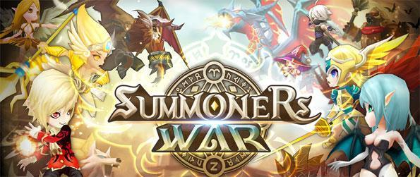 Summoners War - Summon and train monsters to battle against others in a thrilling battling arena in Summoners War!