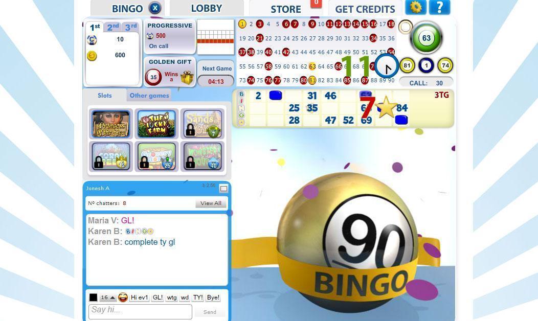 jogo bingo online