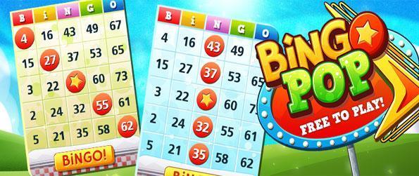 Bingo Pop - Relax with this classic bingo game free on Facebook