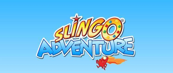 Slingo Adventure - Give that button a press, and let's play Slingo!