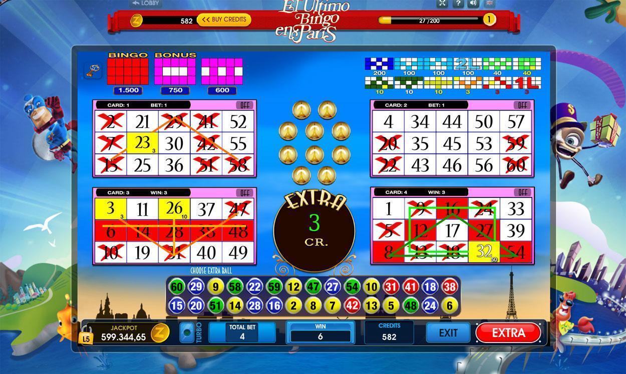 online bingo games with