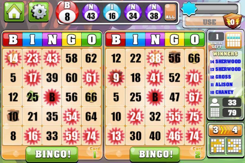 free bingo casino games