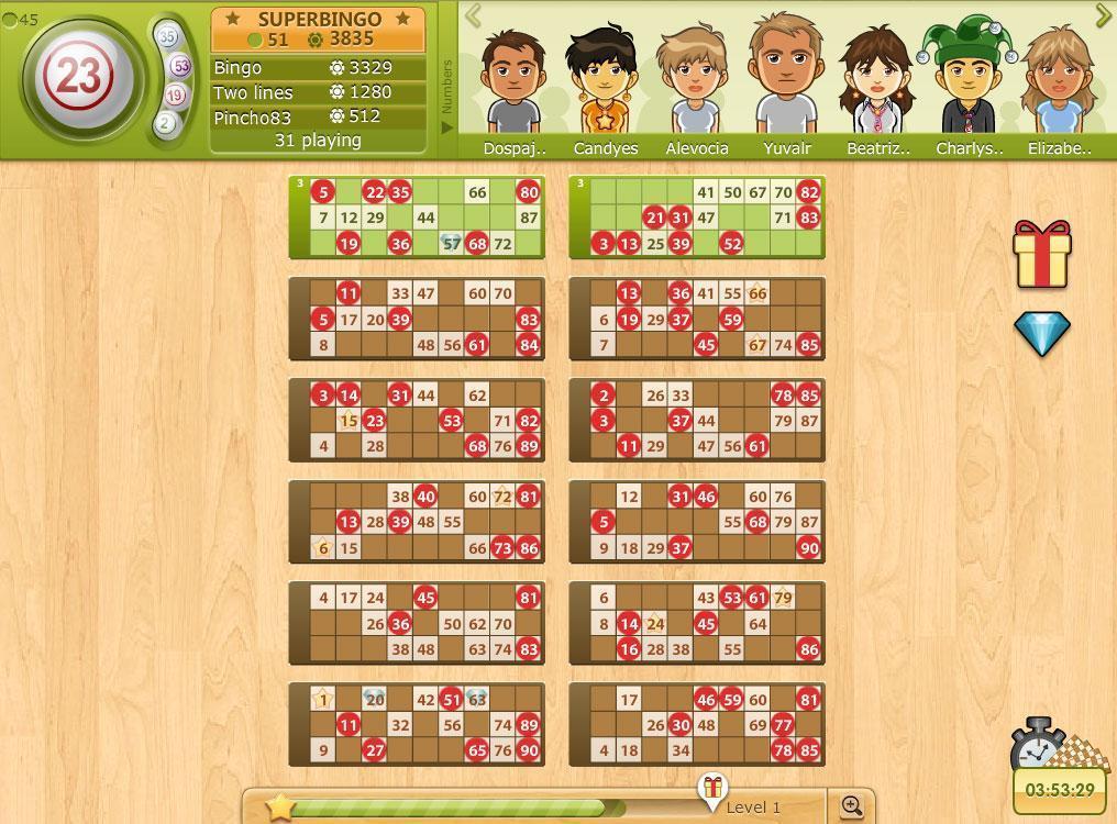 bingo games online play