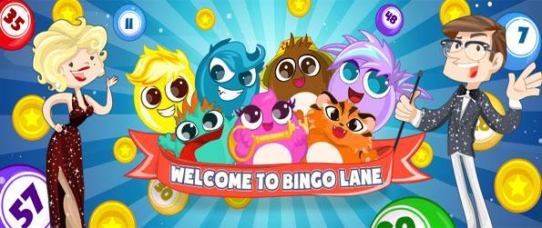 Bingo Lane - Relax and enjoy this classic bingo game on Facebook.