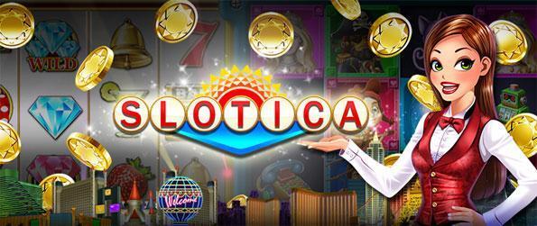 Slotica Casino Slots - Desfrute de uma nova experiência caça-níqueis, com grandes máquinas e grandes bônus disponíveis.