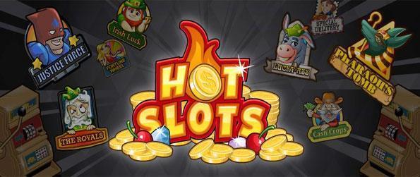 Hot Slots - Ganar a lo grande con Amuletos de la Suerte en este libre de Facebook Slots Juego.