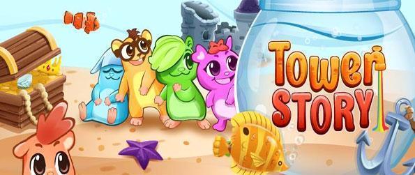 Tower Story - Juega a este muy popular juego de Facebook gratis y ver si se puede salvar a las criaturas lindas.