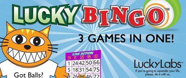 Lucky Bingo - Live Action Bingo – ¡Juega en directo contra amigos y otros jugadores!
