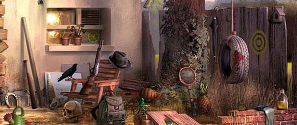 Corpse In A Garden - Junkyard Garden  - Scene 1