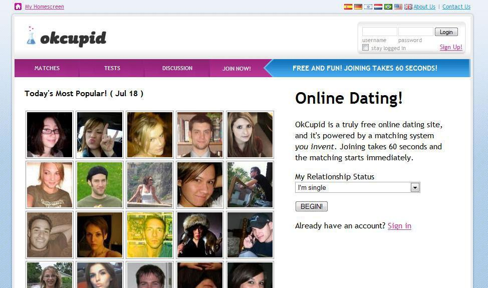 Cupid dating site complaints