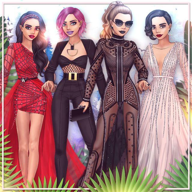 Fabulous outfits in Lady Popular