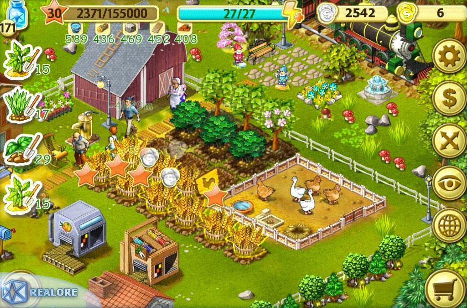 farm up spiel