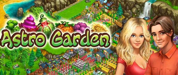 Astro Garden - Enjoy a futuristic twist on the traditional farm game.