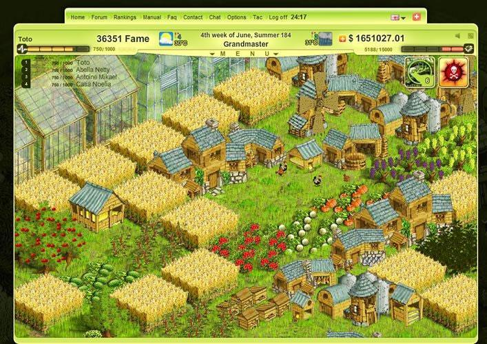 free online games farm