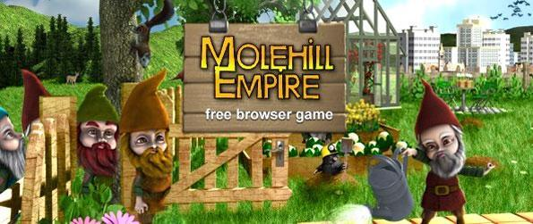Molehill Empire - Enjoy a simple yet addictive gardening experience where you'll have lots to do.