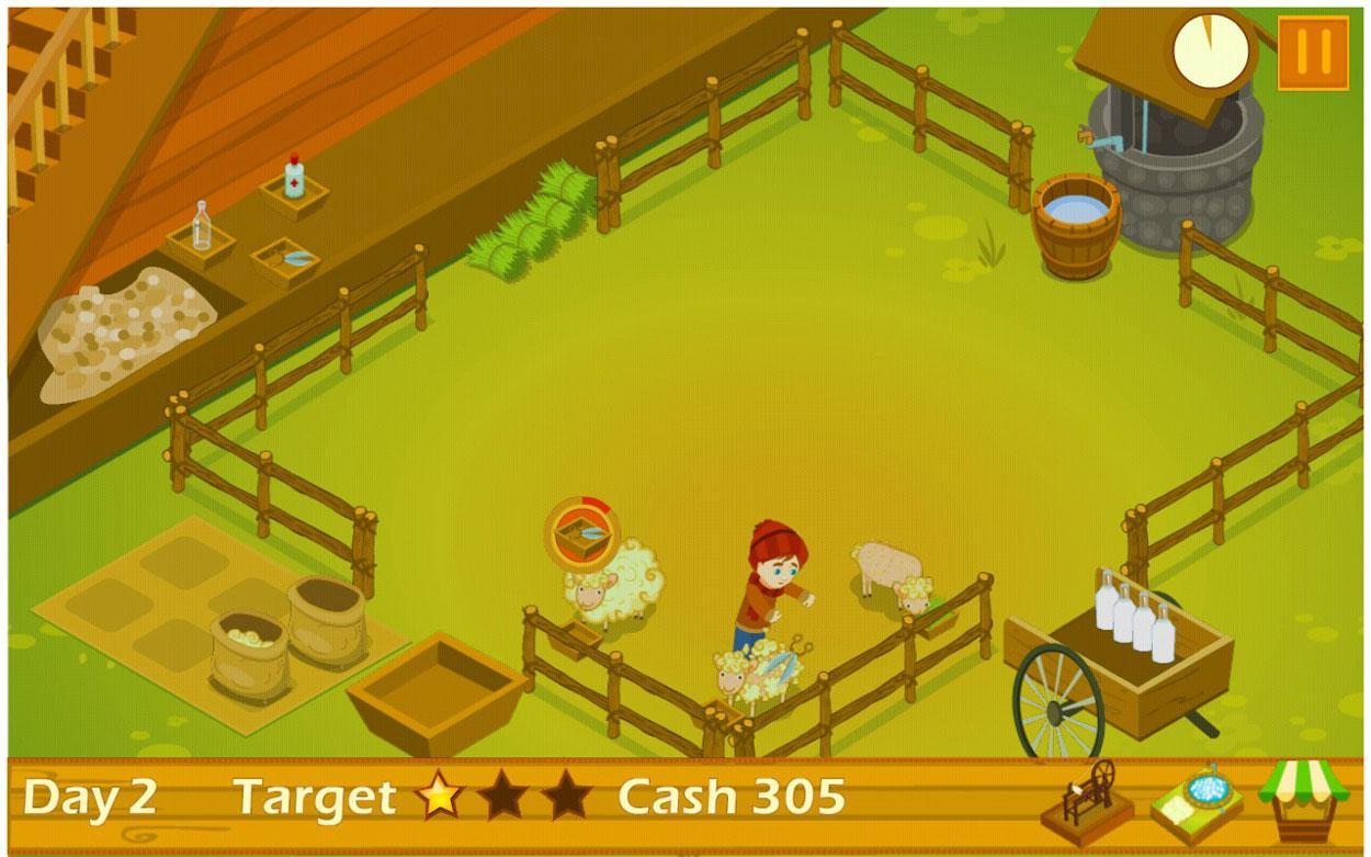 Sheep Farm - Free online games at Gamesgames.com