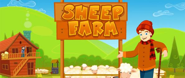 Sheep Farm - Tackle the day-to-day chores of managing your farm in this unique time management-based farm game, Sheep Farm!