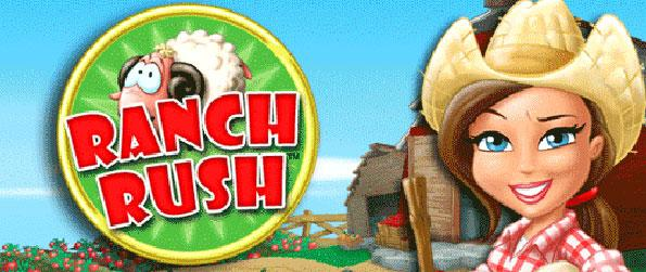 Ranch Rush - Become a farmer and help Sara to raise funds by selling products which will help to save the flower nursery she works for in Ranch Rush!