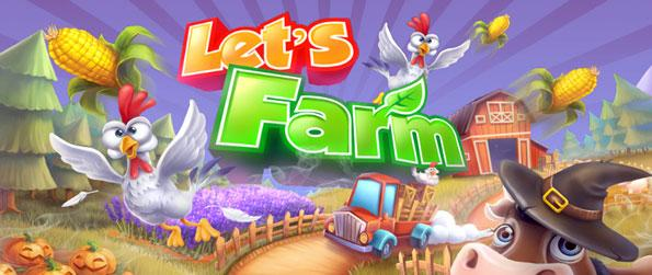 Let's Farm - Play an exciting farm game with just your mobile device.