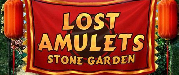 Lost Amulets Stone Garden - Pair up matching tiles to clear the levels and find the lost amulets.