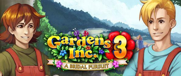 Gardens Inc. 3: A Bridal Pursuit - Enjoy this high quality time management game that will take you on a memorable journey.