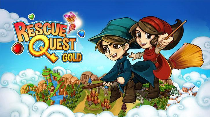 Rescue Quest Gold Now on Google Play!