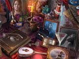 Adam Wolfe: Flames of Time hidden object scene