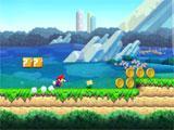 Super Mario Run starting off