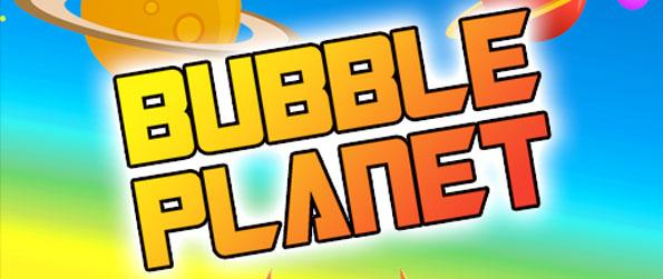 Bubble Planet - Enjoy some classic bubble shooting action in this simplistic yet colorful, space-themed, free-to-play bubble shooter game, Bubble Planet!