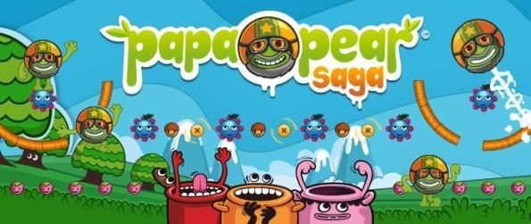 Papa Pear Saga - Bounce Around A Wacky Fruit World!