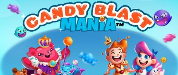 Candy Blast Mania - Beat the Gummy Bear King and enjoy great bonuses and rewards in this