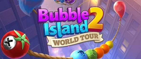 Bubble Island 2: World Tour - Collect all the berries in this classic aim and shoot game.