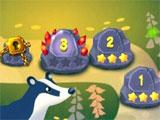 Solitaire Dream Forest: Cards: Level selection