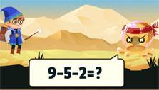 Math & Magic: Go head to head with various creatures
