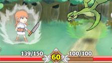 Actual battle in Chiro Heroes
