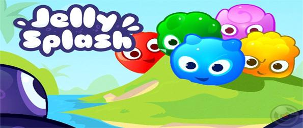Jelly Splash - Play a new colourful Facebook game and see how big a line you can make.