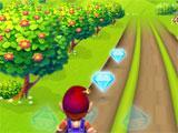 Dwarf Runner: Collecting gems